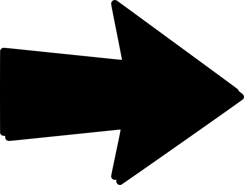 Стрелка картинка черная